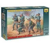 Zvezda 8078 - German Infantry WWII 1:72