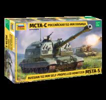 Zvezda - Macheta artilerie ruseasca 152mm MSTA-S 1:35