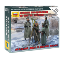 Zvezda 6232 - German HQ Winter 1:72