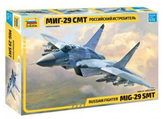 Zvezda 7309 - Russian MIG-29 SMT 1:72