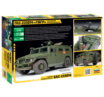 "Zvezda 3668 - 1:35 Russian Armored Vehicle GAZ ""Tiger"""