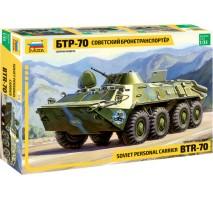 Zvezda 3556 - Soviet BTR-70 APC 1:35