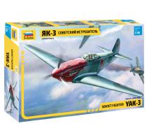 Zvezda 4814 - 1:48 YAK-3 Soviet Fighter
